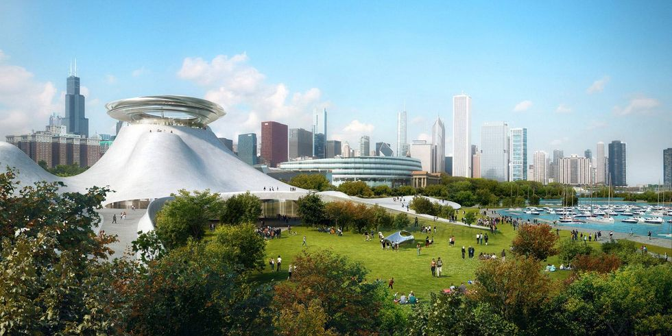 The Force Awakens as Chicago Approves George Lucas' Massive Space-Age Museum