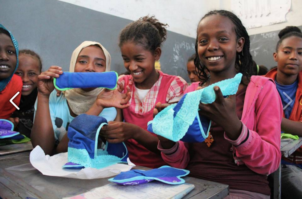 How This Underwear Could Keep Young African Women in School
