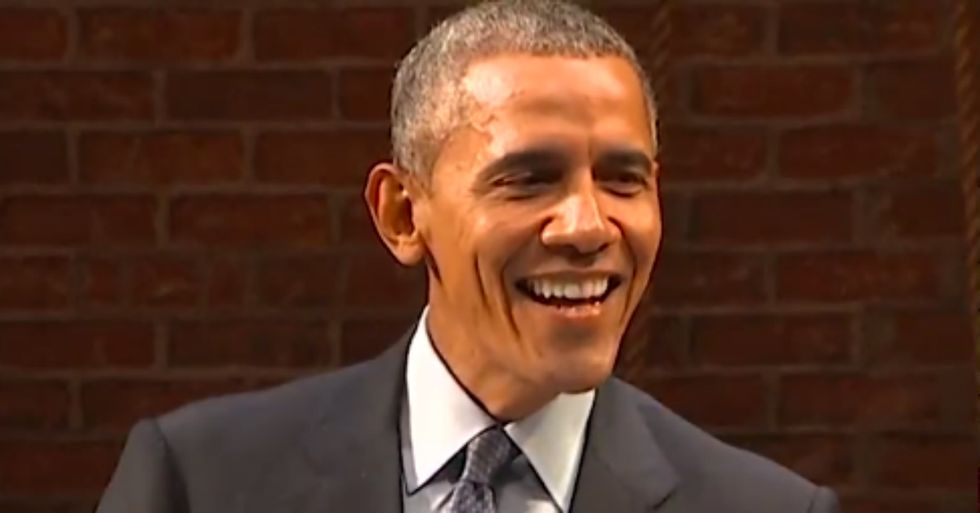 President Obama Makes Fun of the GOP Candidates