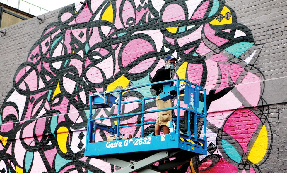 The Transcendent Street Art of eL Seed