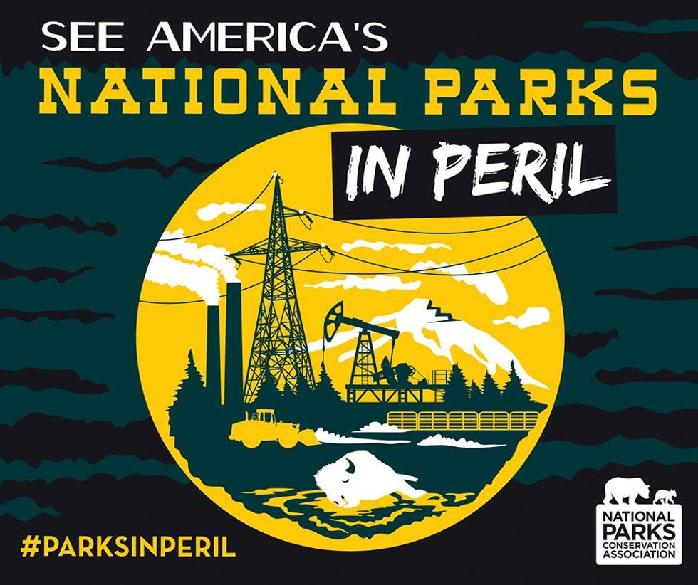 Retro Travel Posters Show a Scary (Possible) Future for our National Parks