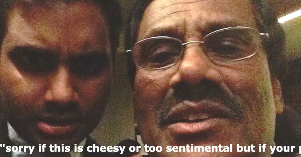 Aziz Ansari Writes Tear-Inducing Message About His Father