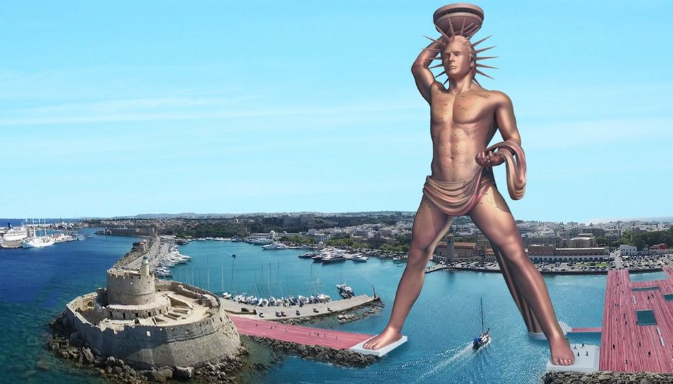 This Team of Engineers Want to Rebuild the Colossus of Rhodes—Five Times Larger Than Before