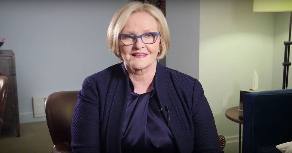 "Senator Claire McCaskill Has a PSA for Men: ""Shut the Hell Up"""