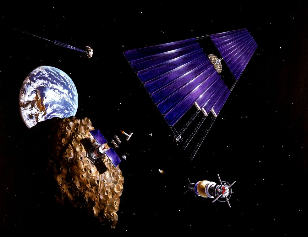 Congress Just Passed a Historic Law Legalizing Commercial Mining… In Outer Space