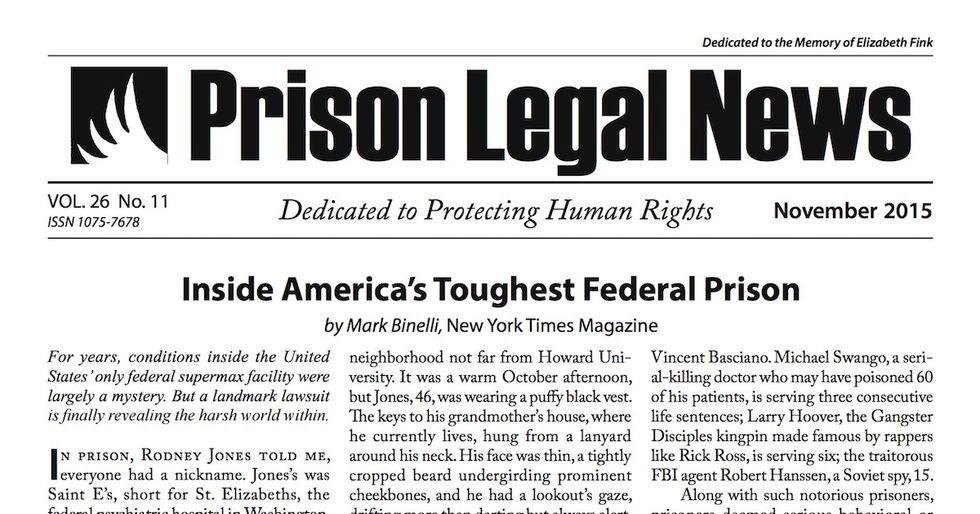 Prison Magazine Sues Arizona Department of Corrections for Censorship