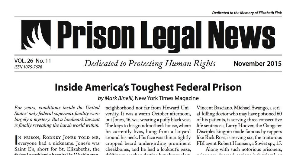 Prison Magazine Sues Arizona Department of Corrections for Censorship