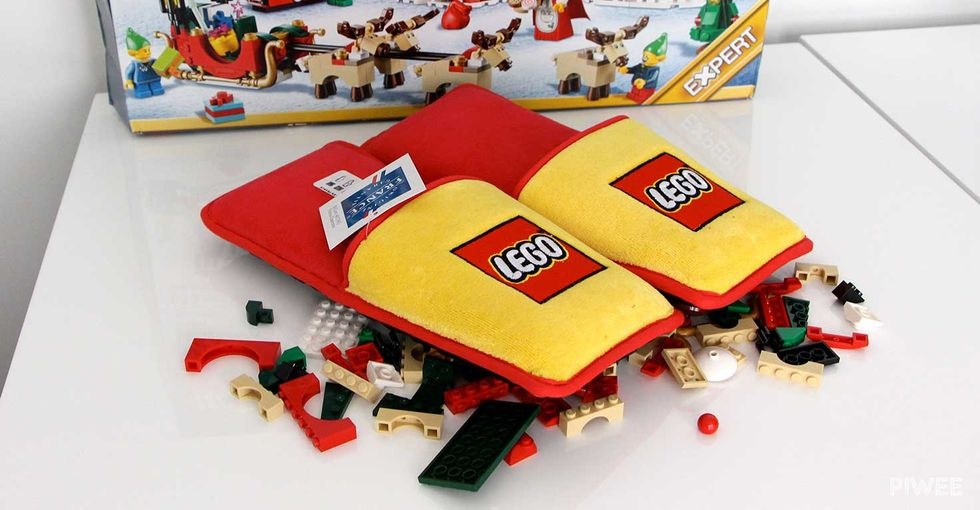 You Probably Need These Anti-Lego-Brick Slippers