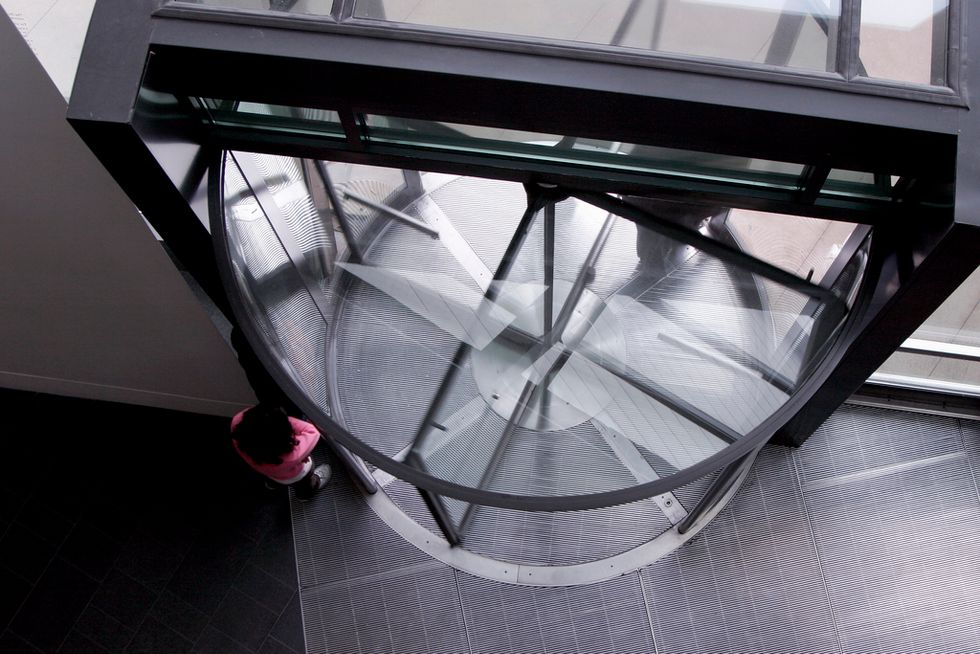 Revolving Doors Are an Energy Powerhouse. Why Don't We Use Them?