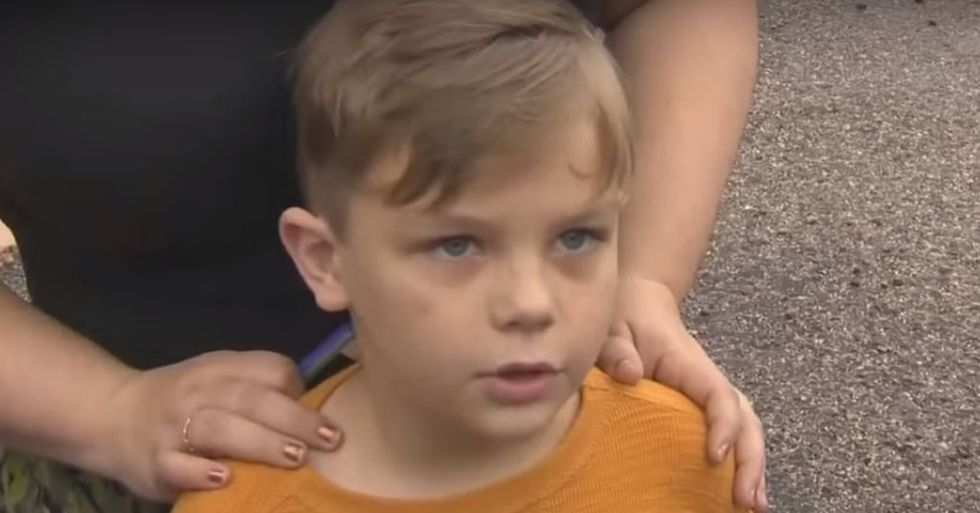 7-Year-Old Boy Donates All of His Change to Support Vandalized Mosque