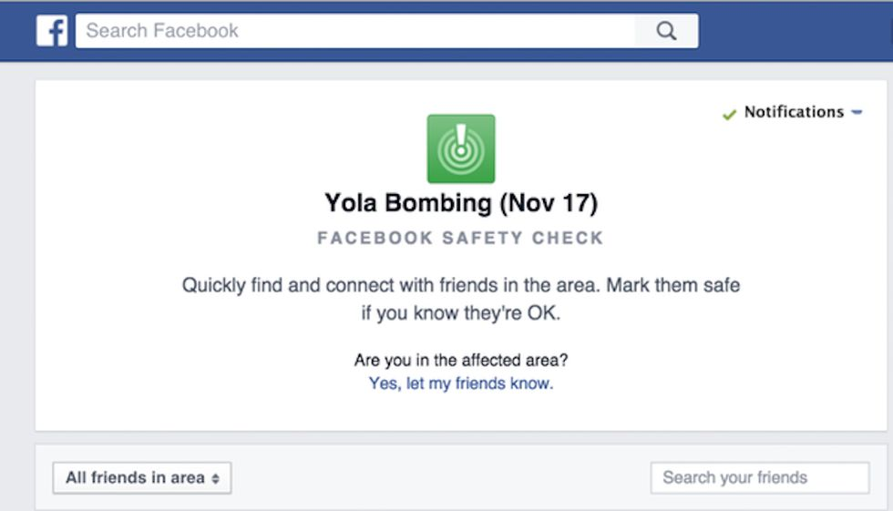 Facebook Activates 'Safety Check' for Tuesday's Bomb Blast in Nigeria