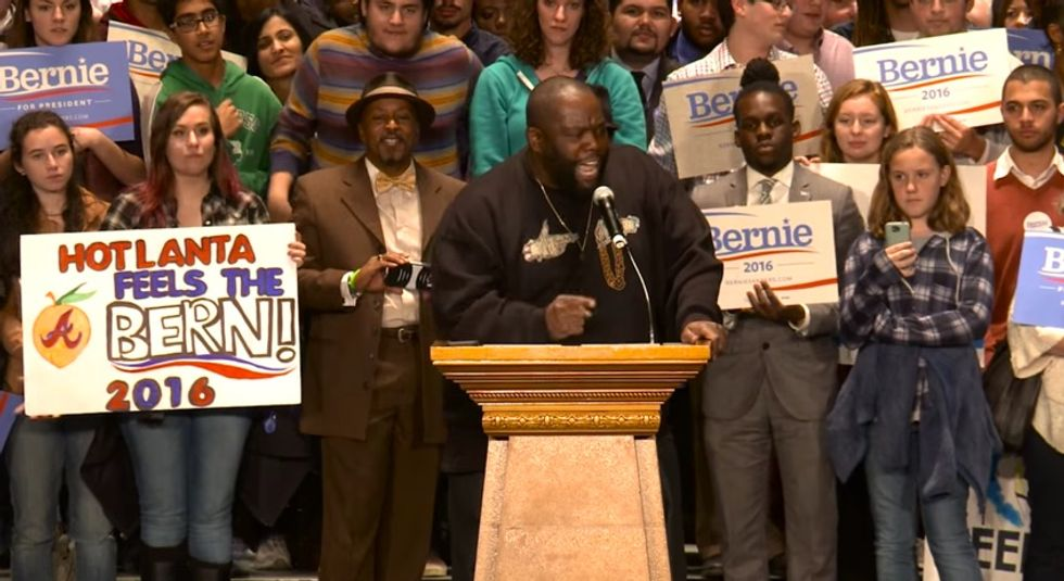 "Killer Mike Electrifies at Bernie Sanders Rally: ""Stay Confronting Bulls**t"""