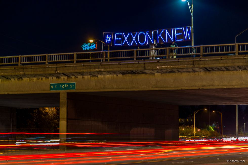 Climate Hawks to Department of Justice: It's Time to Prosecute Exxon