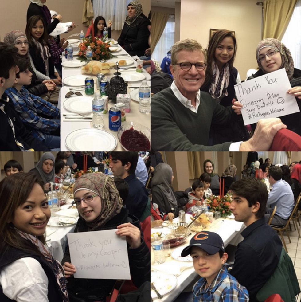 A's Player Sean Doolittle Invites 17 Syrian Refugee Families for Thanksgiving Meal