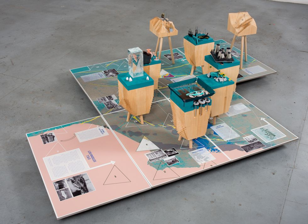 A New Installation Gamifies the Future of Los Angeles
