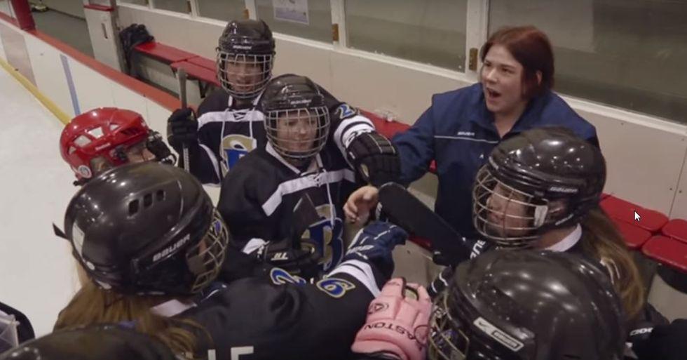 Dick's Sporting Goods Helps a Struggling Girls' Hockey Program in Alaska