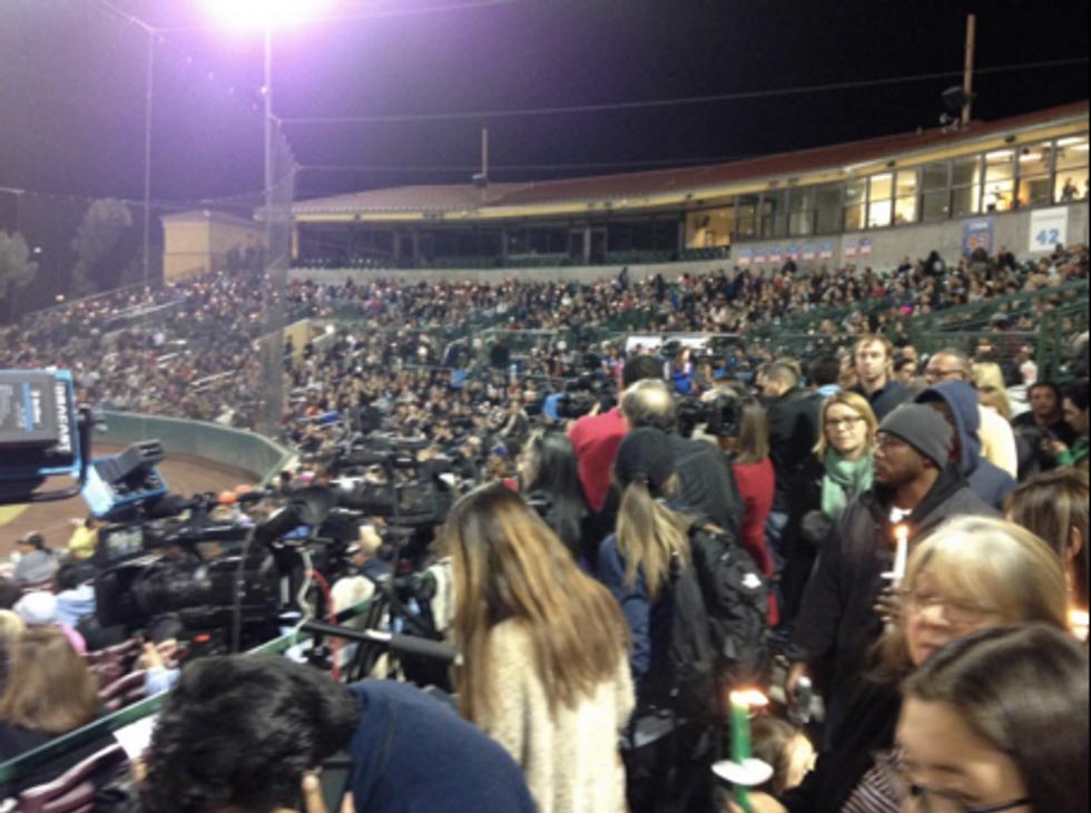Thousands Mourn in San Bernardino