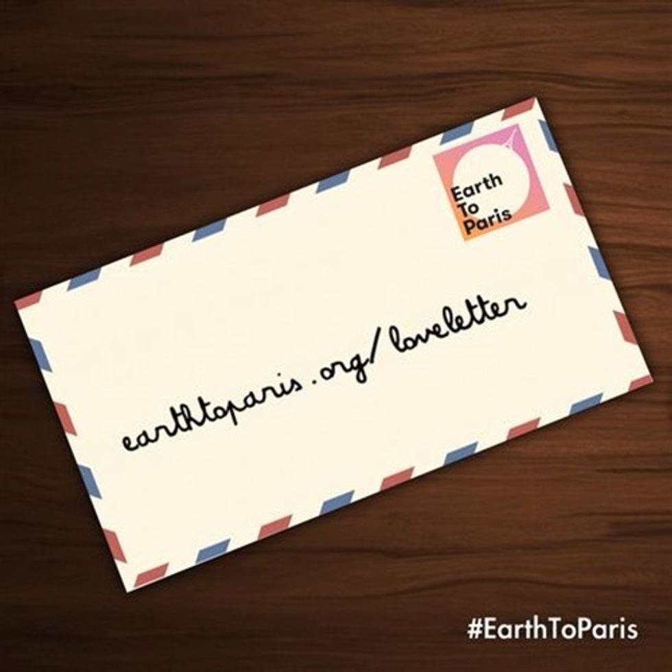 Send a Love Letter From #EarthtoParis