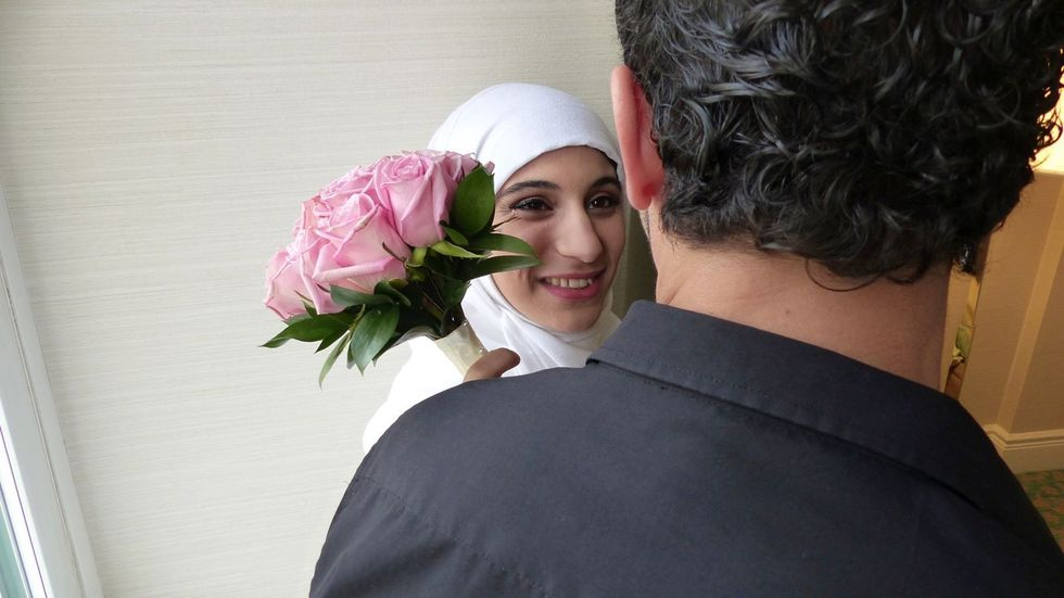 An Improv Wedding for a Syrian Refugee Couple in Canada