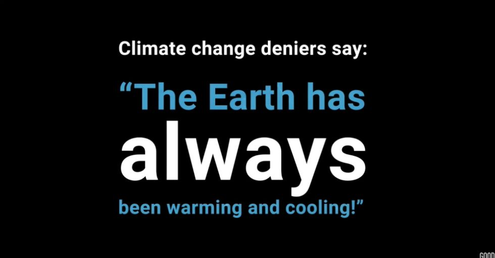How to Respond to a Ridiculous Climate Change Argument