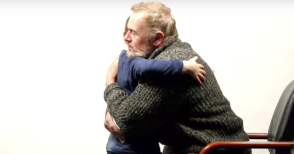 64-Year-Old Man and 7-Year-Old Boy Discuss the Meaning of Life