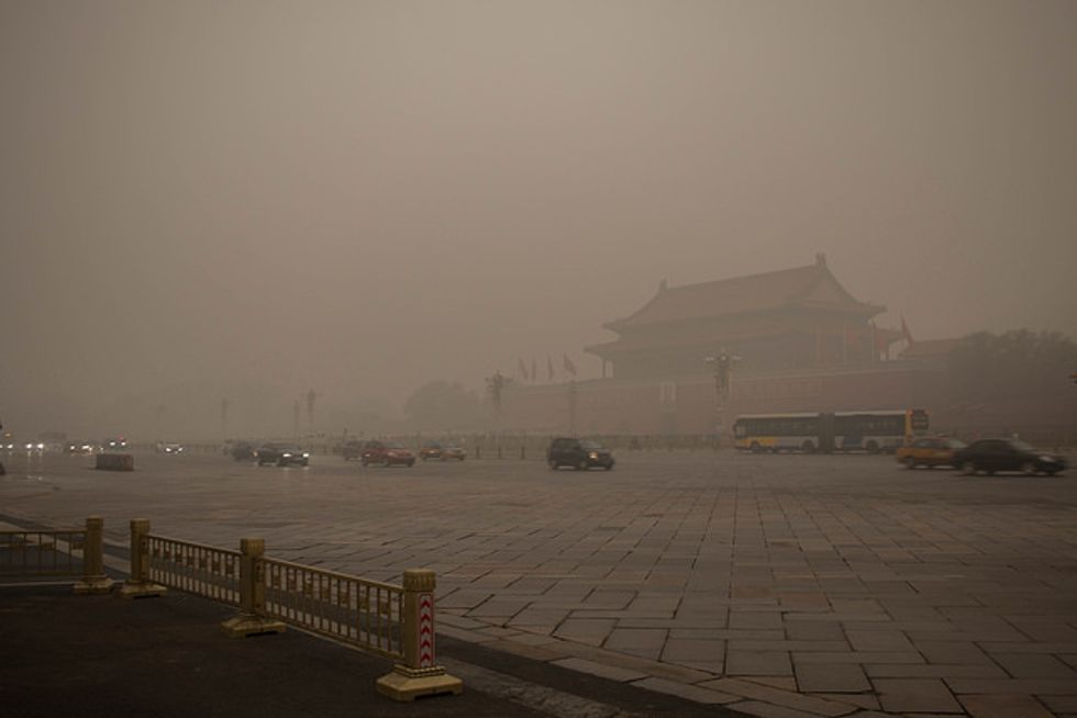 Beijing Government Is Shaming Polluters Over Social Media