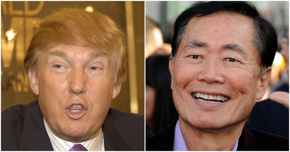 George Takei Calls Out Trump for His'Politics of Fear'