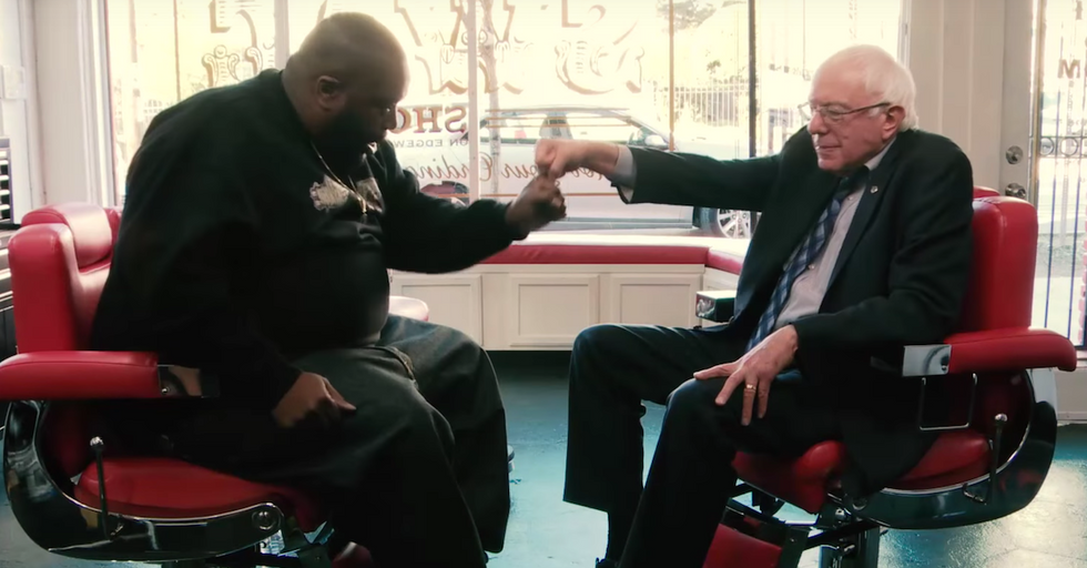 Bernie Sanders Sits Down With Killer Mike for an Engaging Conversation