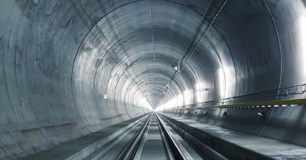 World's Longest Railroad Tunnel Set to Open in Switzerland Next Year