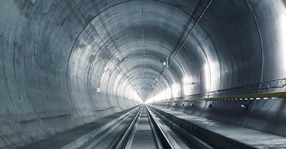 World's Longest Railroad Tunnel Set to Open in Switzerland Next Year
