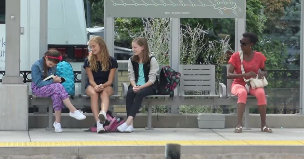 Social Experiment Shows How Strangers React to a Young Girl Being Bullied