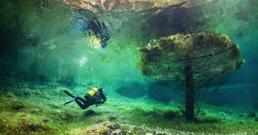 This Park in Austria Is Underwater for Half the Year