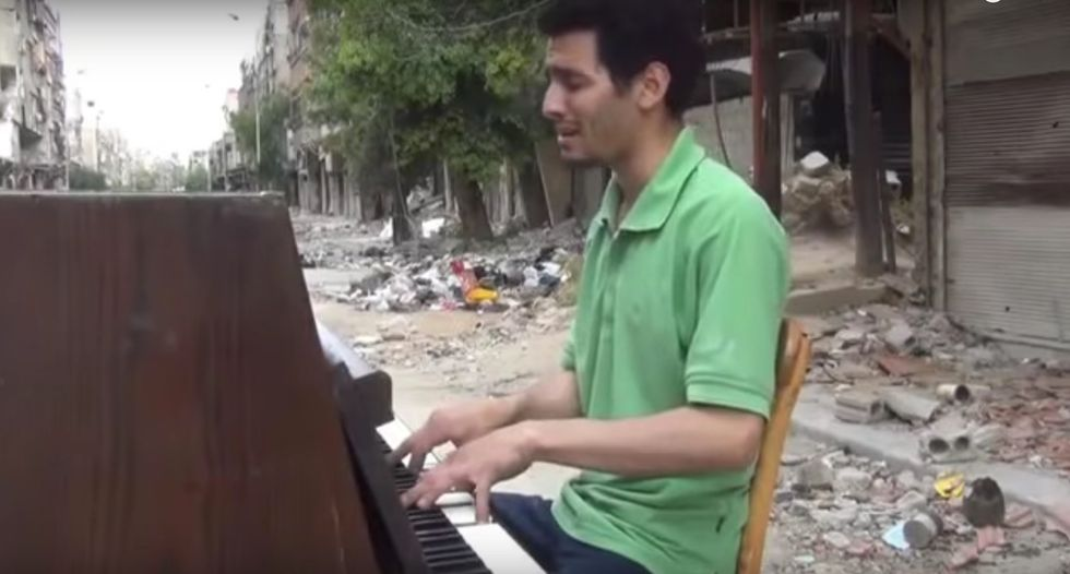Palestinian Refugee Pianist Wins Beethoven Prize