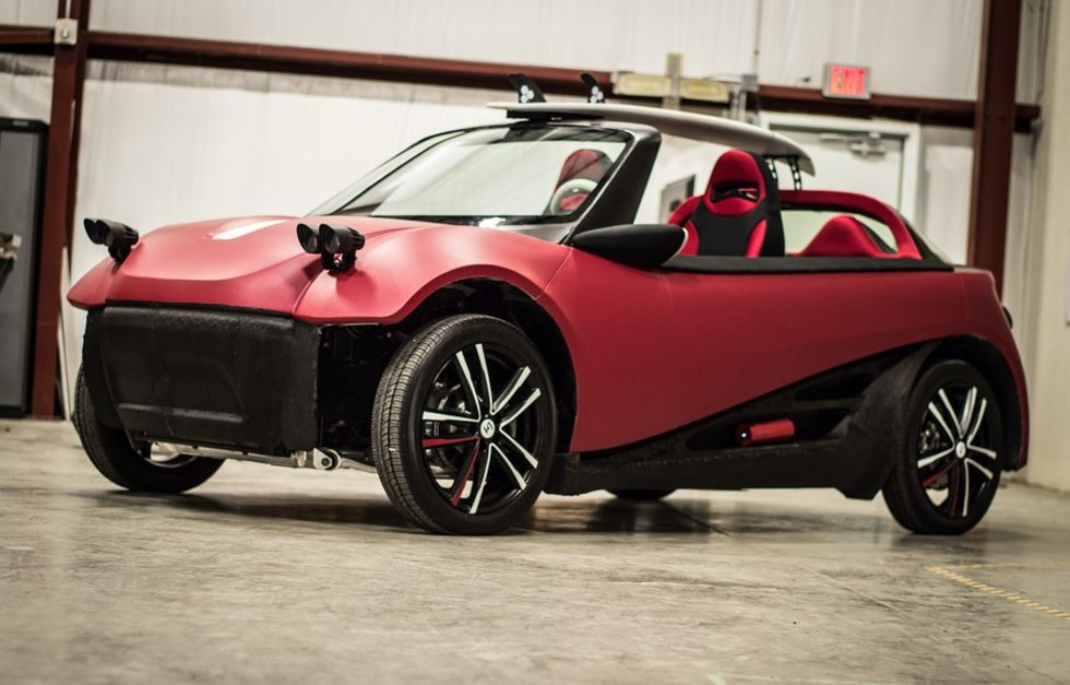 Is This 3D-Printed Car the World's Most Sustainable Automobile?