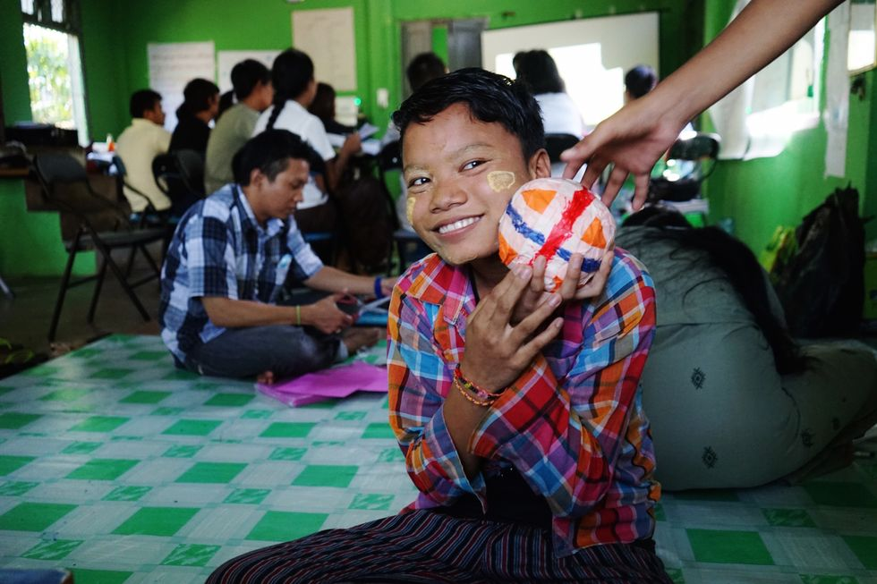 Reducing Myanmar's Child Workforce, One Lesson at a Time