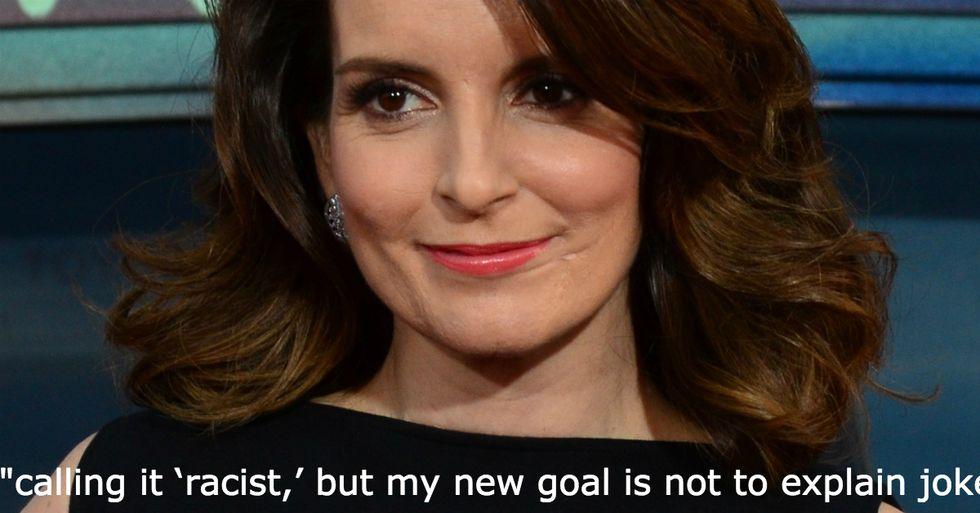 Tina Fey Will No Longer Apologize for 'Racist'Jokes
