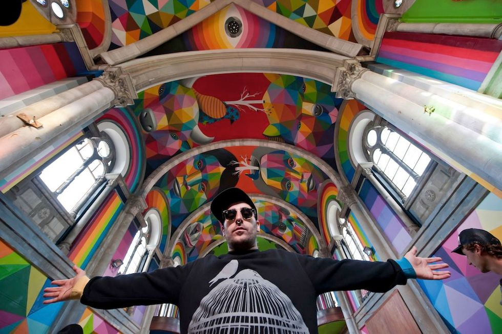 Transforming an Old Church Into the Sistine Chapel of Skate Parks