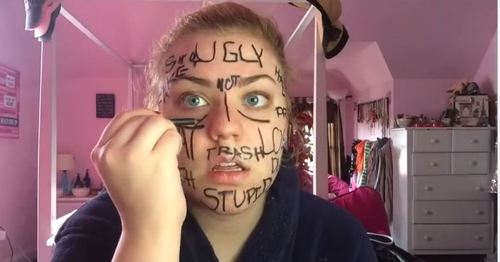 Teenager Uses Her Body to Prove a Point About Overcoming Labels