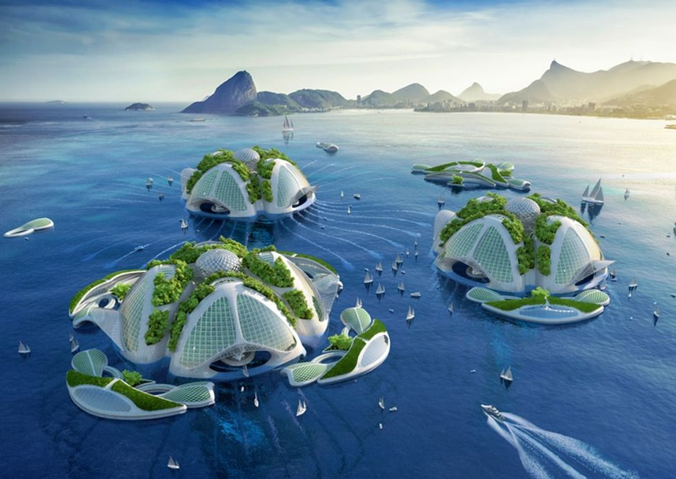 A Gorgeous Vision of the Future, Made of Ocean Garbage