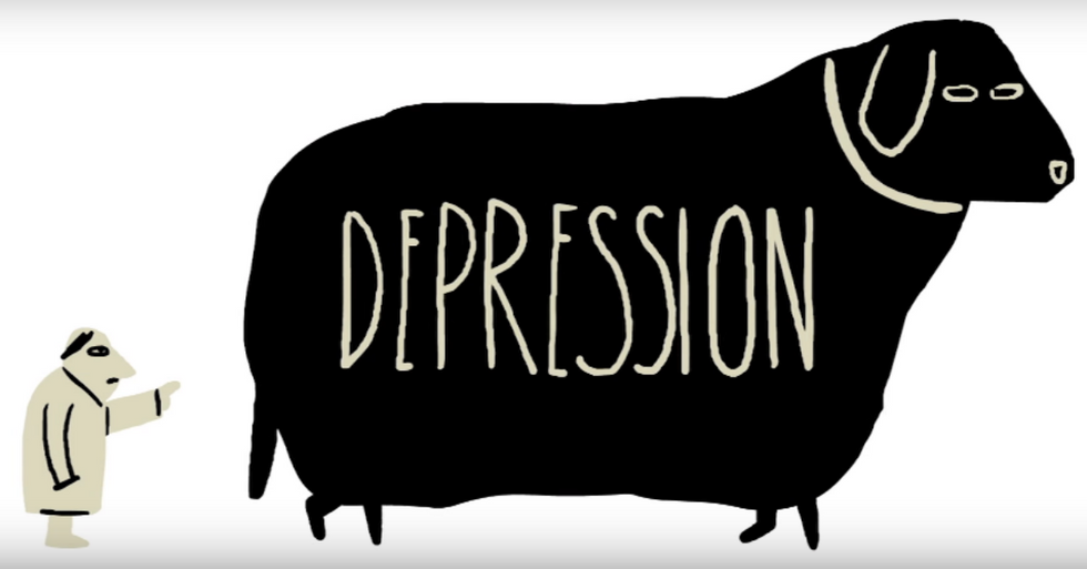 What's the difference between depression and just being sad?