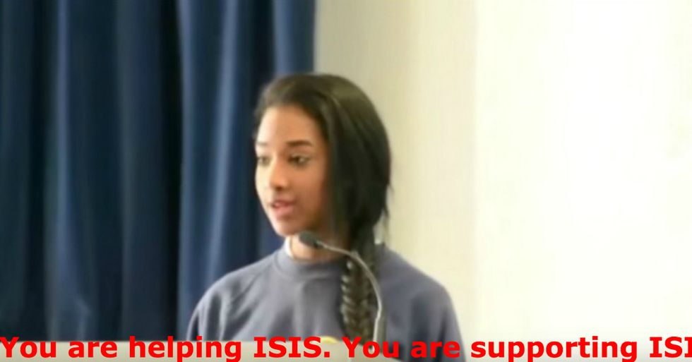 15-Year-Old Muslim Girl Dismantles Islamophobia in Less Than Five Minutes