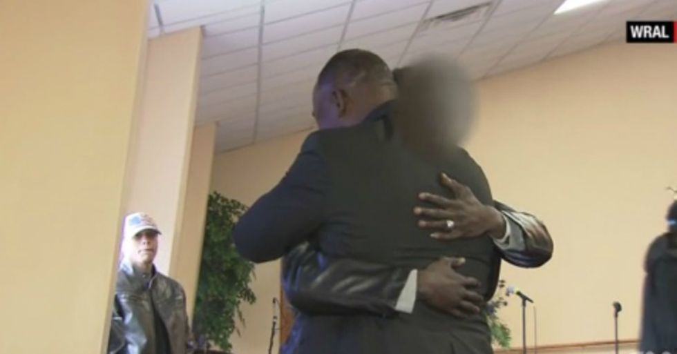 A Pastor in North Carolina Stands Up to a Gunman in His Church