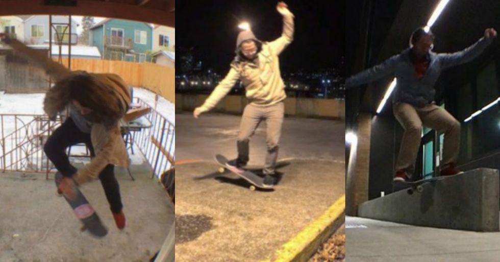 Skater Explains How He's Skateboarding His Way to Mental Health