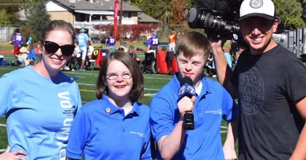 These Special Olympics Athletes May Be America's First TV News Reporters With Down Syndrome
