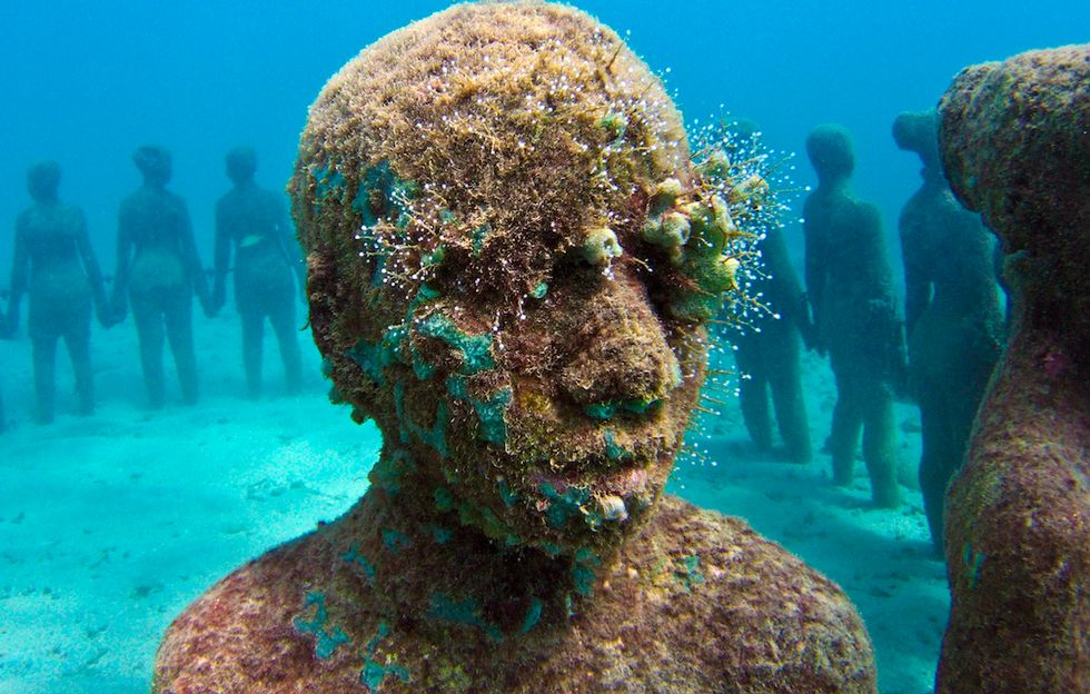 Jason deCaires Taylor on His Ambitious New Underwater Sculpture Museum