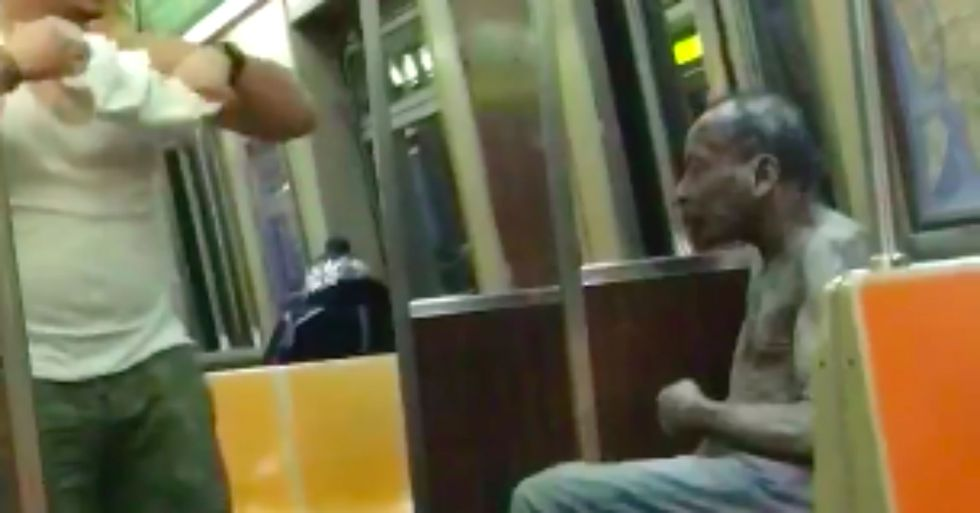 The Shirt Off His Back: An Act of Kindness on the Subway