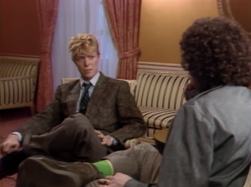 When David Bowie Confronted MTV on Its Stance Toward Black Artists