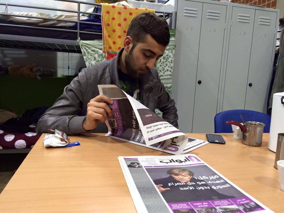 Refugee Newspaper Helps Immigrants Adjust to New Life in Germany