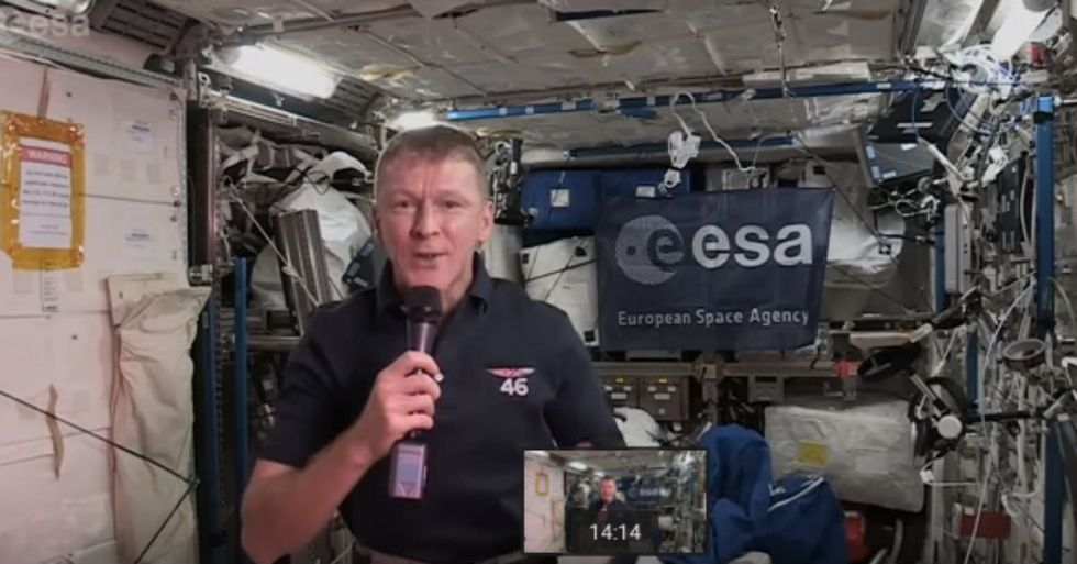 British Astronaut Answers Very British Question With Even More British Answer