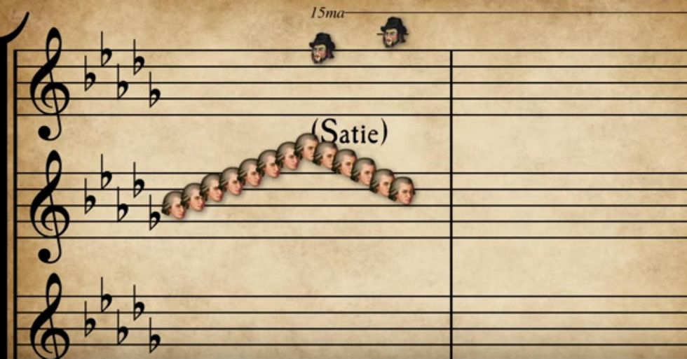 This Guy Combined 57 Classical Songs Into One Incredible Mashup